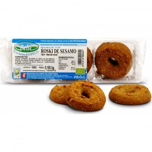 rosqui sesamo espelta sin azucar belsi 150 gr bio