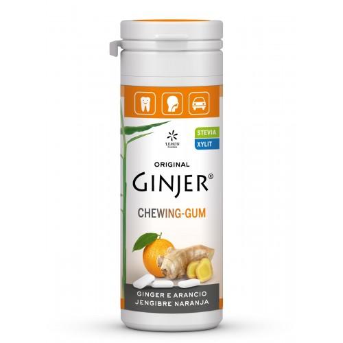 ginger chicles jengibre naranja lemon pharma 30 gr