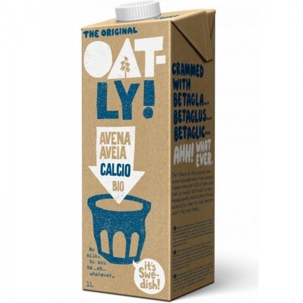 bebida avena calcio oatly 1l bio