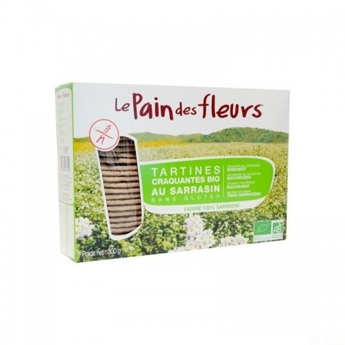 pan flores trigo sarraceno 300 gr bio