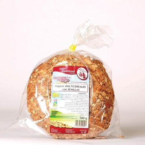 pan hogaza multicereales semillas horno de leña 500 gr bio