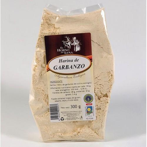 harina garbanzo horno de leña 300 gr bio