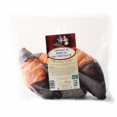 croissant espelta chocolate horno de leña 350 gr bio