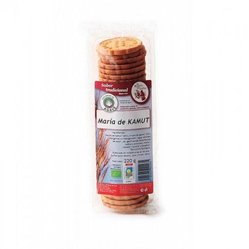 galletas maria kamut agave s p horno de leña 220 gr bio