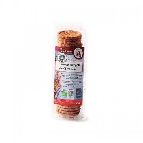 galletas maria integral centeno sirope agave horno de leña 220 gr bio