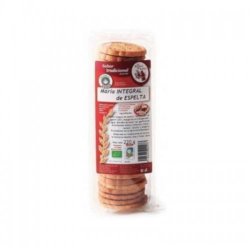 galletas maria integral espelta sirope agave horno de leña 220 gr bio