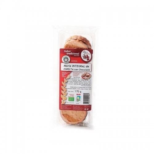 galletas maria integral espelta agave y choco horno de leña 170 gr bio