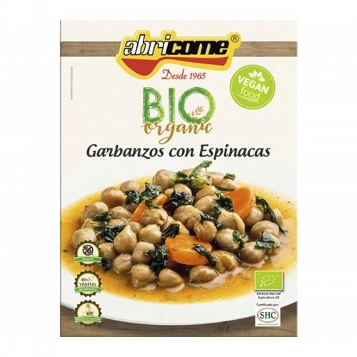 garbanzos espinacas abricome 250 gr bio