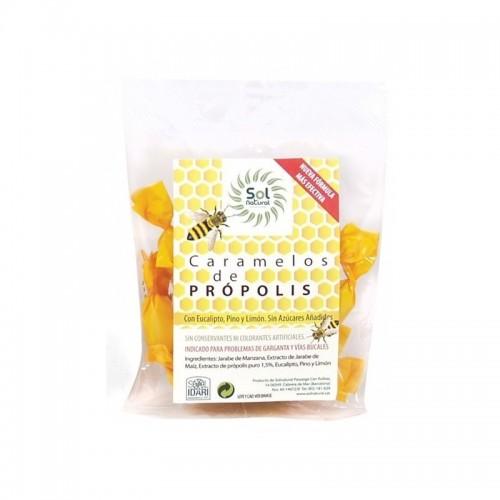 caramelos propolis sol natural 50 gr bio