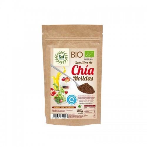 semillas chia molida sol natural 200 gr bio