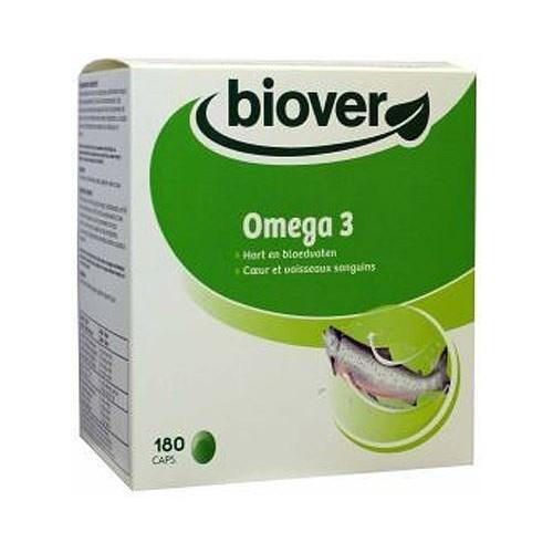 omega 3 biover 180 capsulas