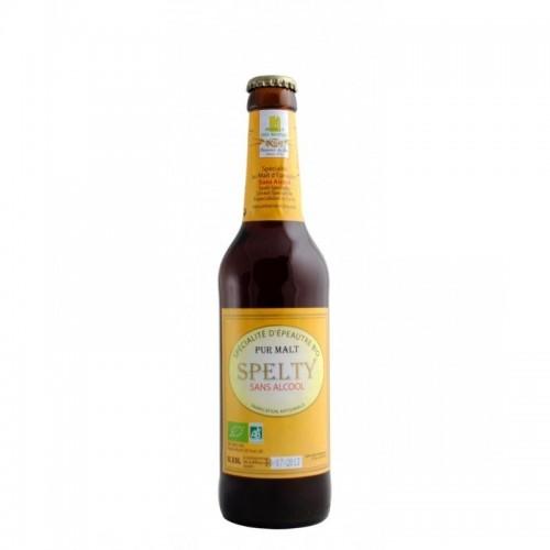 cerveza sin alcohol espelta spelty moulins des moines bio