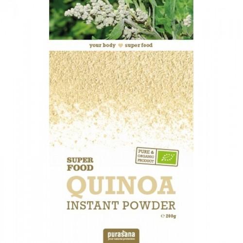 quinoa instantanea en polvo purasana 200 gr bio