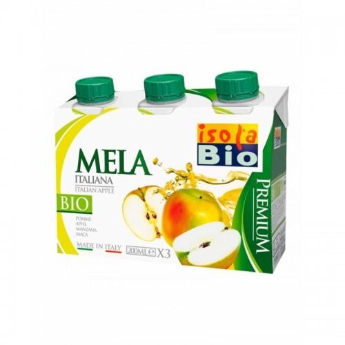 zumo manzana premium isola bio 3x200 ml