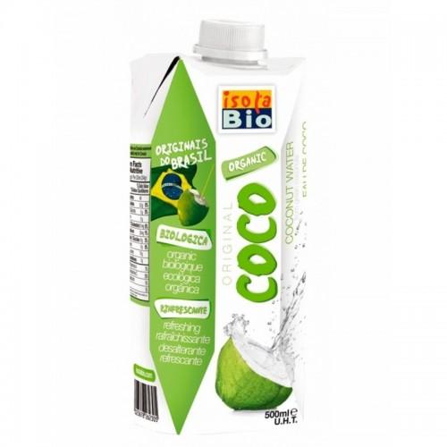 agua coco isola bio 500 ml