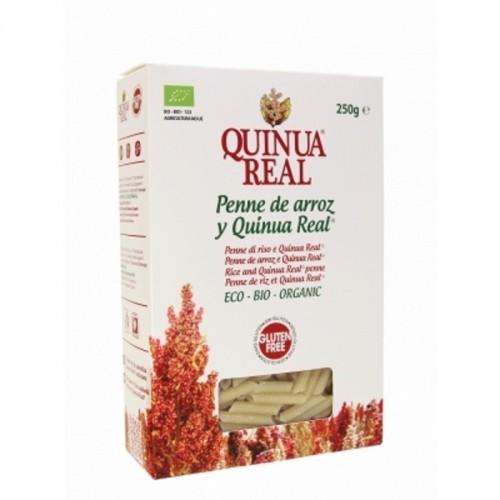 penne arroz y quinua real 250 gr bio