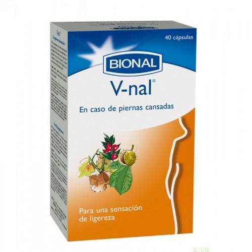 v nal bional 40 capsulas