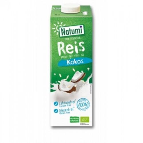 bebida arroz coco natumi 1l bio