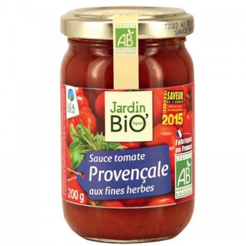 salsa tomate provenzal jardin bio 200 gr