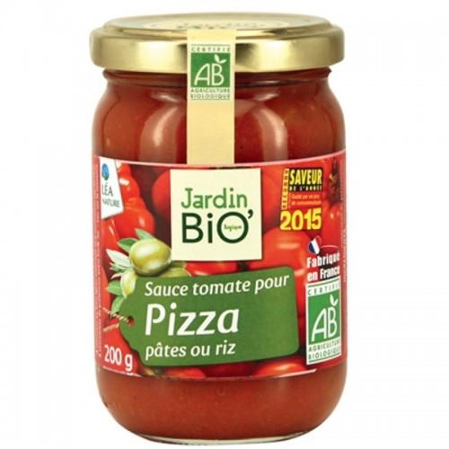 salsa tomate para pizza jardin bio 200 gr