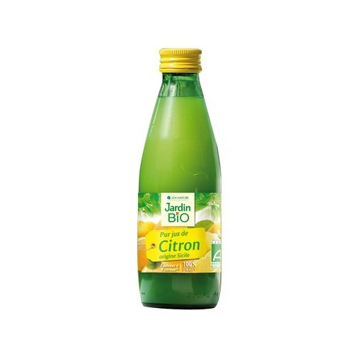 jugo limon puro jardin bio 25 cl