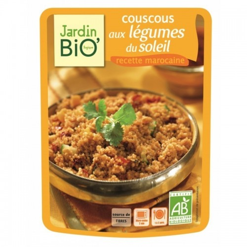 plato preparado cuscus con verduras de verano jardin bio 220 gr