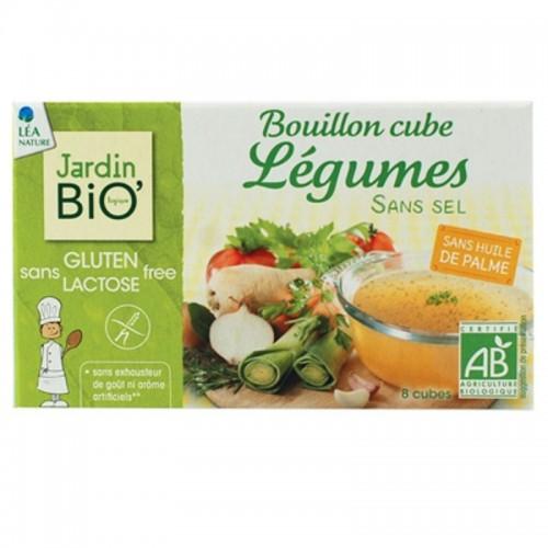 cubitos verduras sin sal y sin gluten jardin bio 8x9 gr