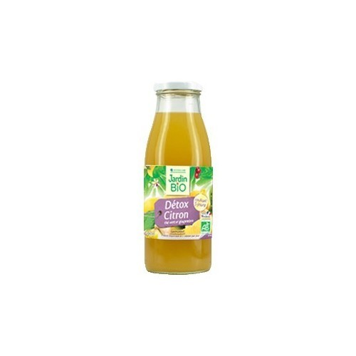 zumo limon detox jardin bio 500 ml