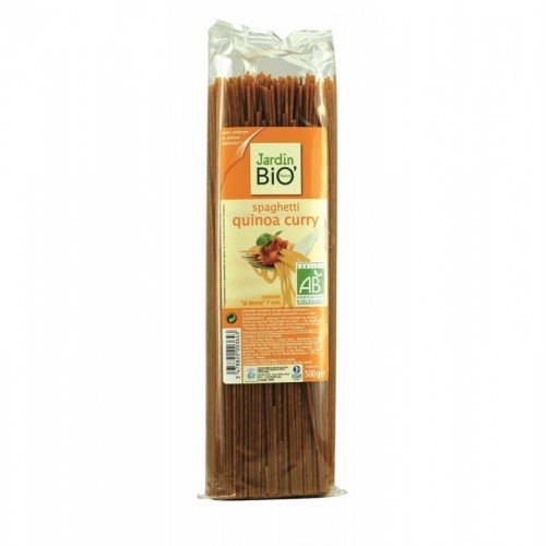 espagueti quinoa curry jardin bio 500 gr