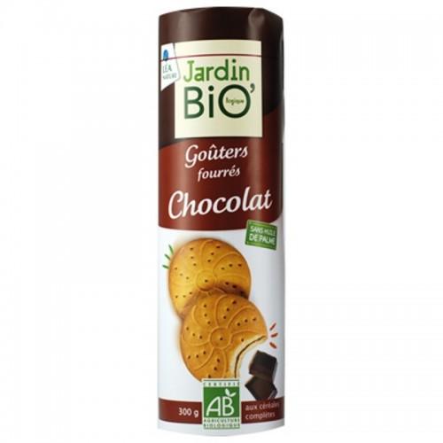 galletas rellenas chocolate jardin bio 300 gr