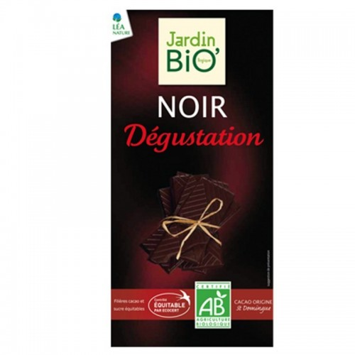 chocolate negro 70 cacao degustacion jardin bio 100 gr