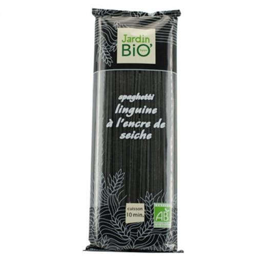 espagueti a la tinta calamar jardin bio 500 gr