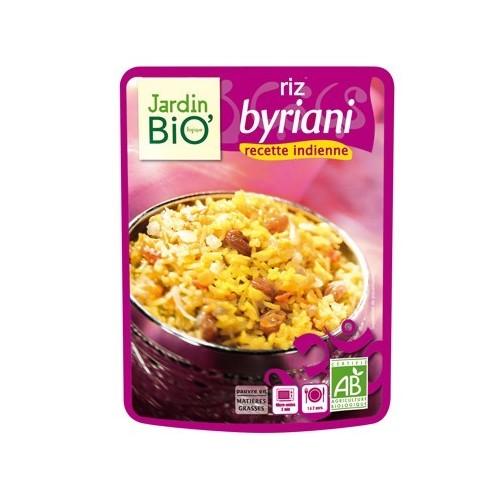 plato preparado arroz byriani jardin bio 250 gr
