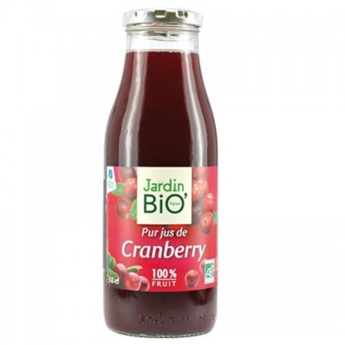 zumo arandano rojo puro jardin bio 50 cl