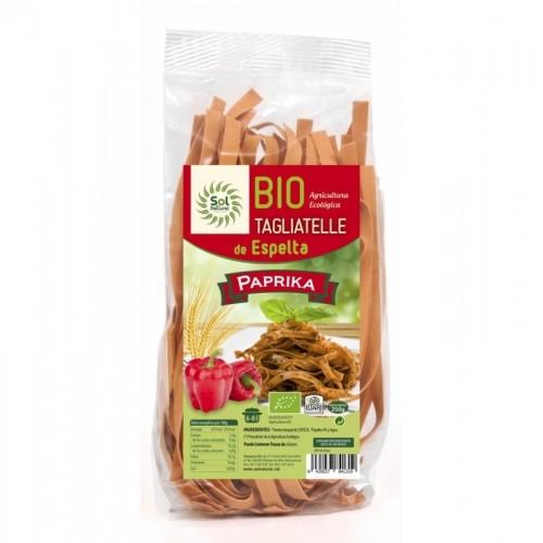 tagliatelle espelta paprika sol natural 250 gr bio