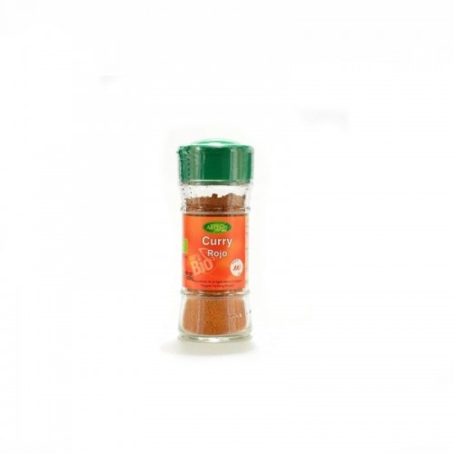 curry rojo especias artemis 40 gr bio
