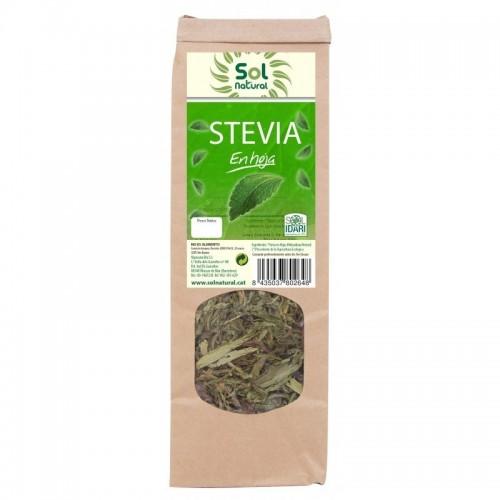 stevia en hoja bolsa sol natural 40 gr bio