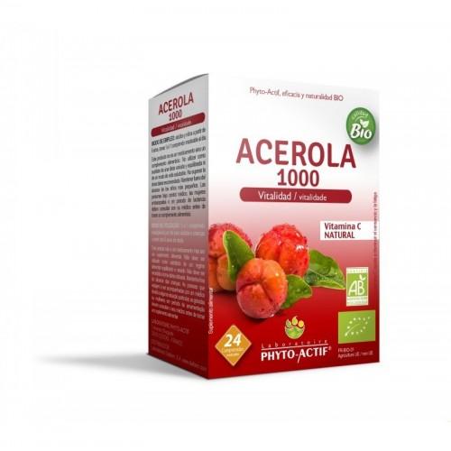 acerola 1000 mg phitoactif 24 comprimidos bio