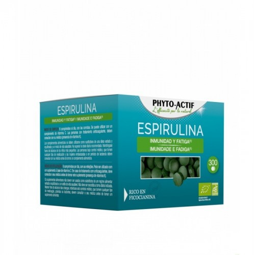 espirulina phitoactif 300 comprimidos bio