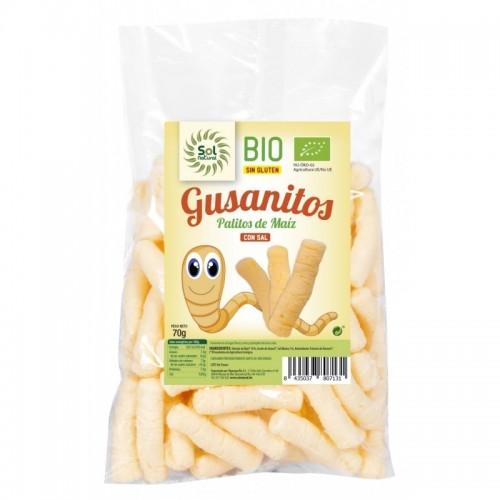 gusanitos maiz sol natural 70 gr bio
