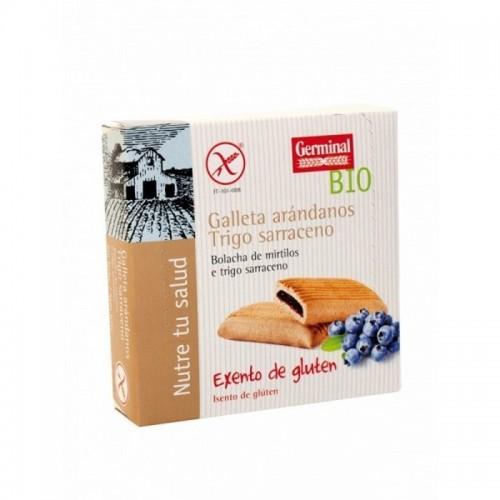 galletas trigo sarraceno rellenas arandano germinal 200 gr bio