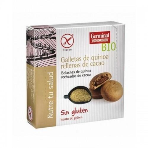 galletas quinoa rellenas cacao germinal 200 gr bio
