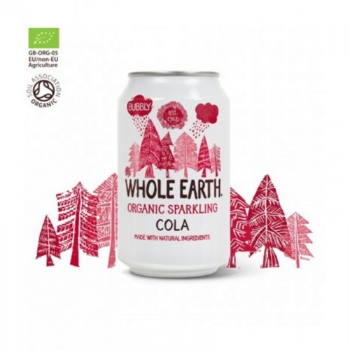 refresco cola sin azucar whole earth 330 ml bio