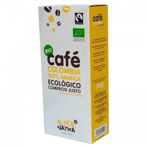 cafe colombia molido alternativa 3 250 gr bio