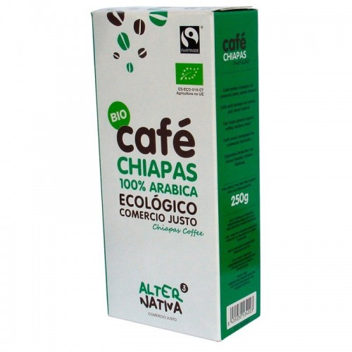 cafe chiapas molido alternativa 3 250 gr bio