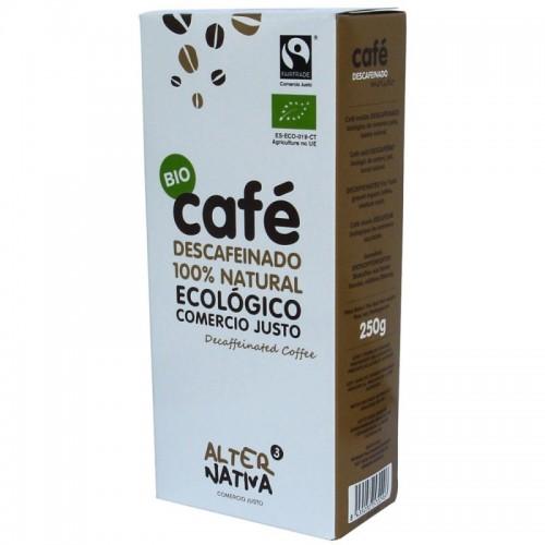 cafe descafeinado molido alternativa 3 250 gr bio