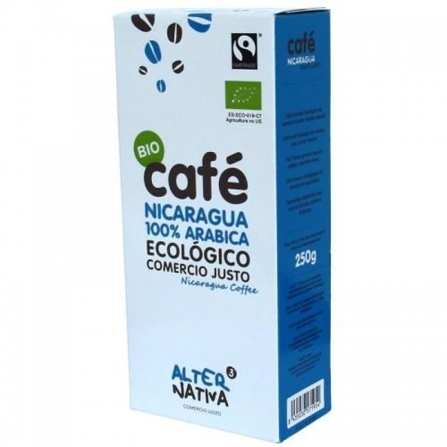 cafe nicaragua molido alternativa 3 250 gr bio