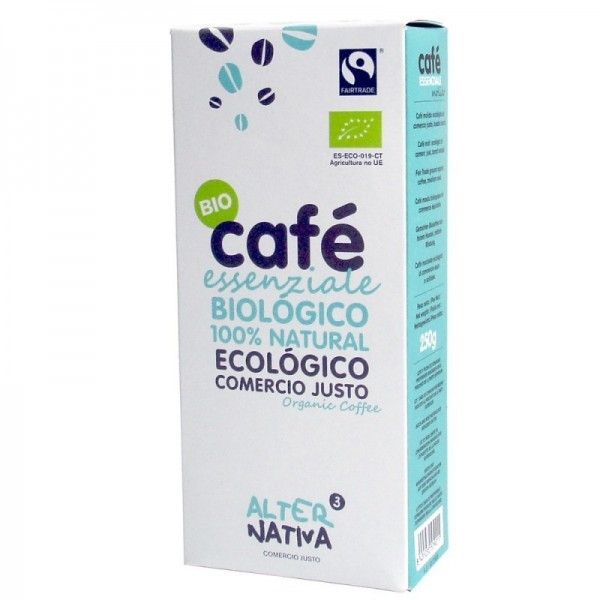 cafe biologico essenziale molido alternativa 3 250 gr