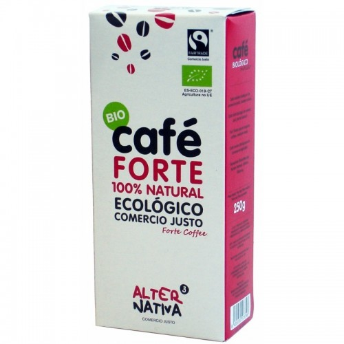 cafe forte molido alternativa 3 250 gr bio