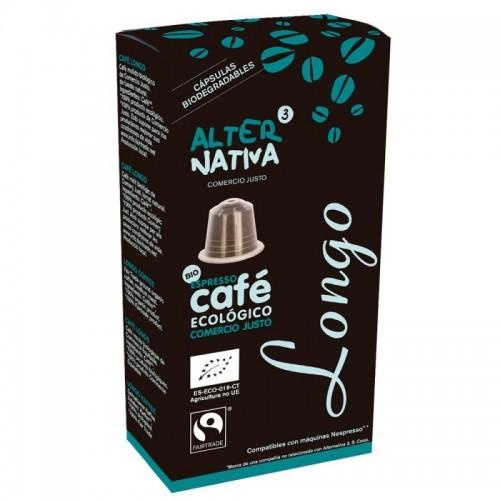 cafe longo alternativa 3 10 capsulas bio